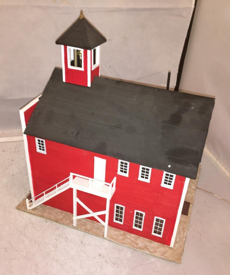 Chapman Creations O Gauge Fire house - 5
