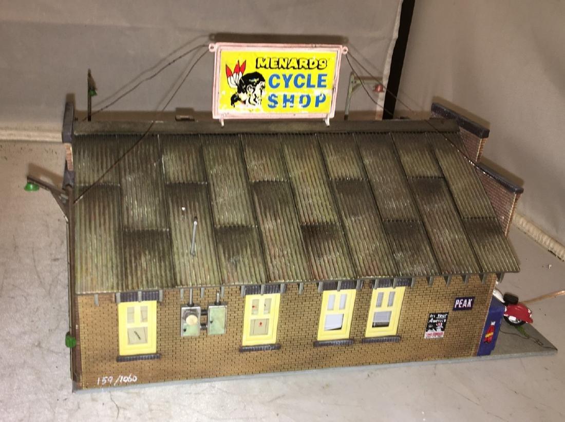 Menards O Gauge Cycle Shop - 3