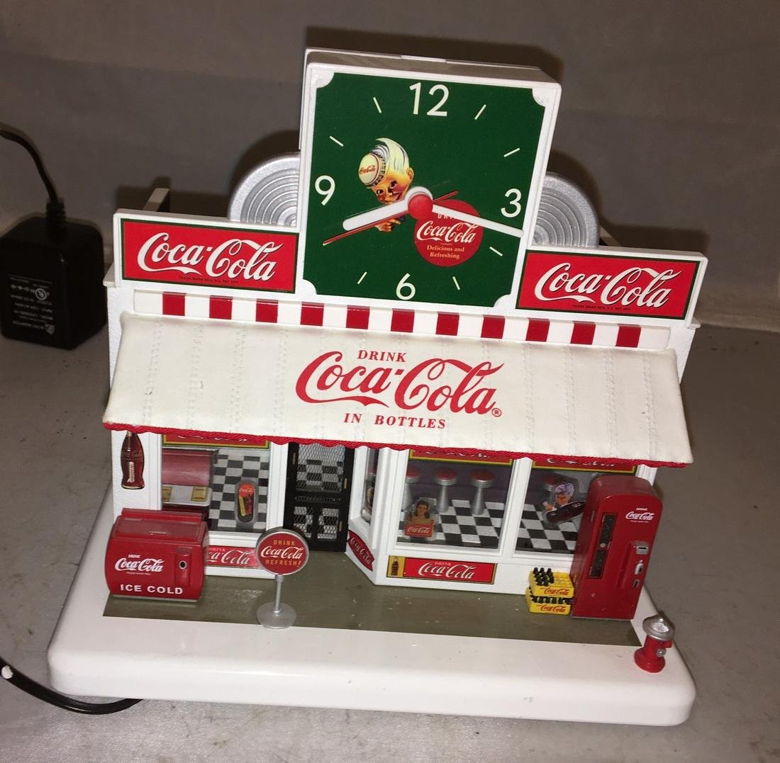 Danbury Mint O Gauge Coca Cola Store