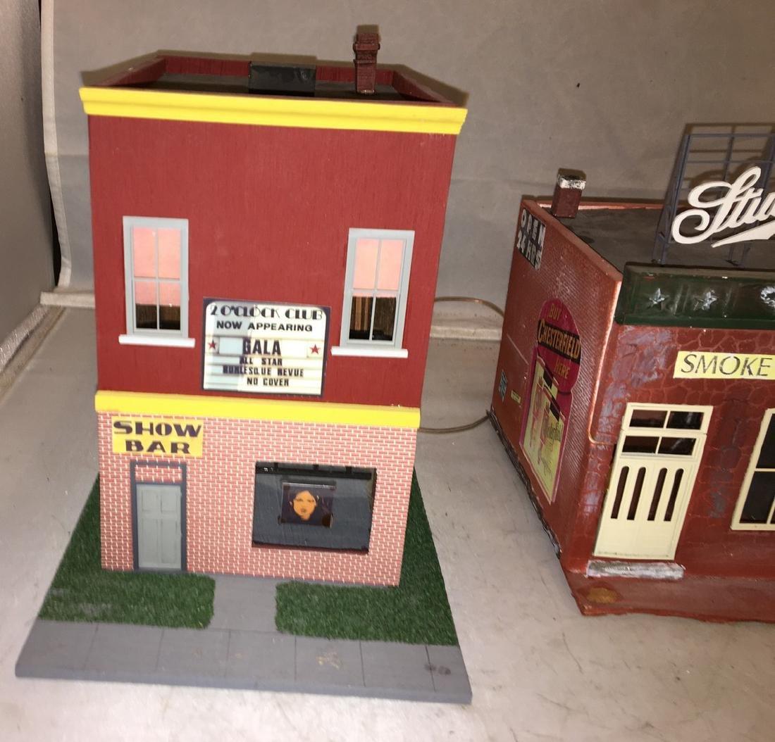 Wood O Gauge City Scene Buildings - 2