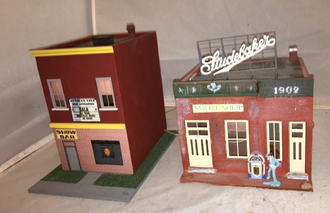 Wood O Gauge City Scene Buildings - 4