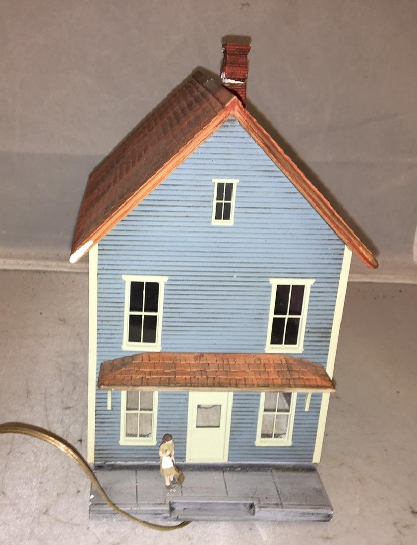 Cast Plaster O Gauge farm House