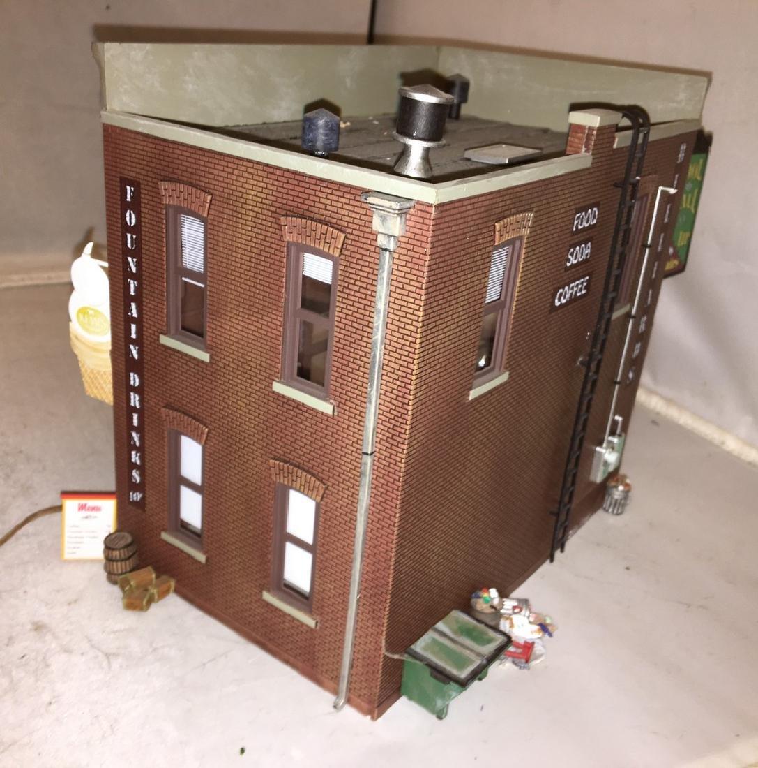 Menards O Gauge MultiFunction Building - 5