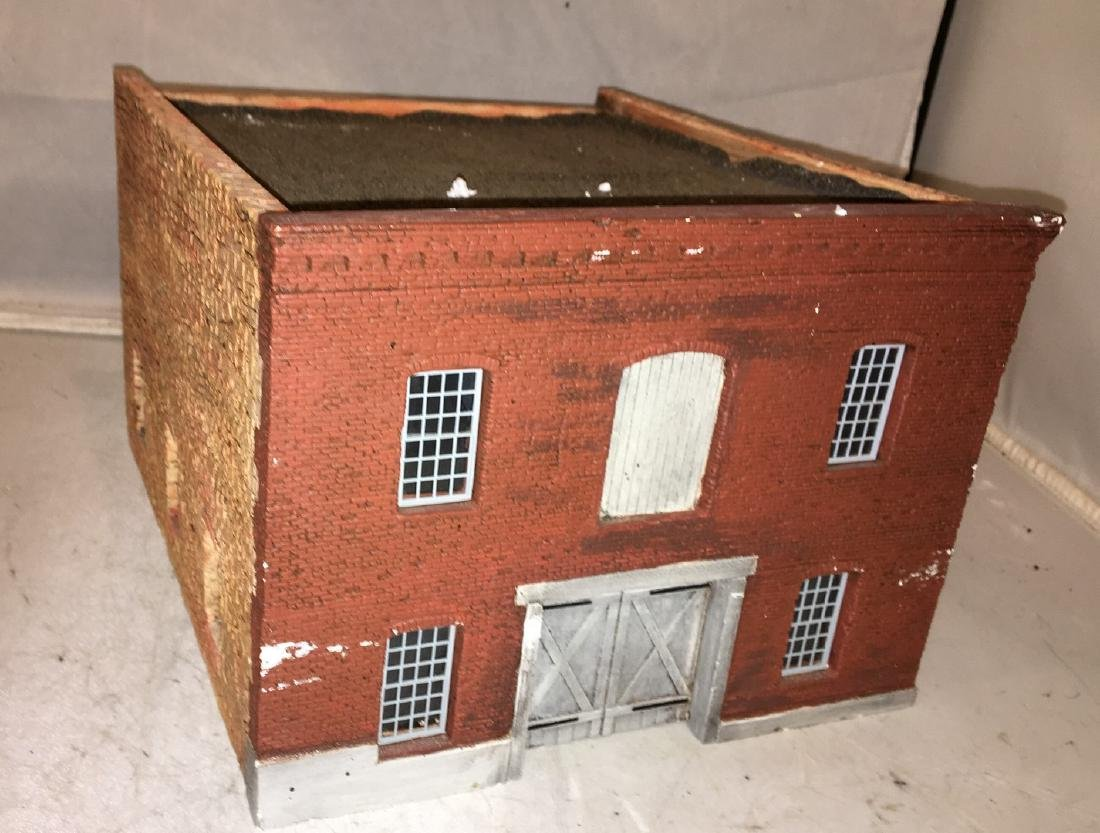 Cast Plaster O Gauge Factory Building