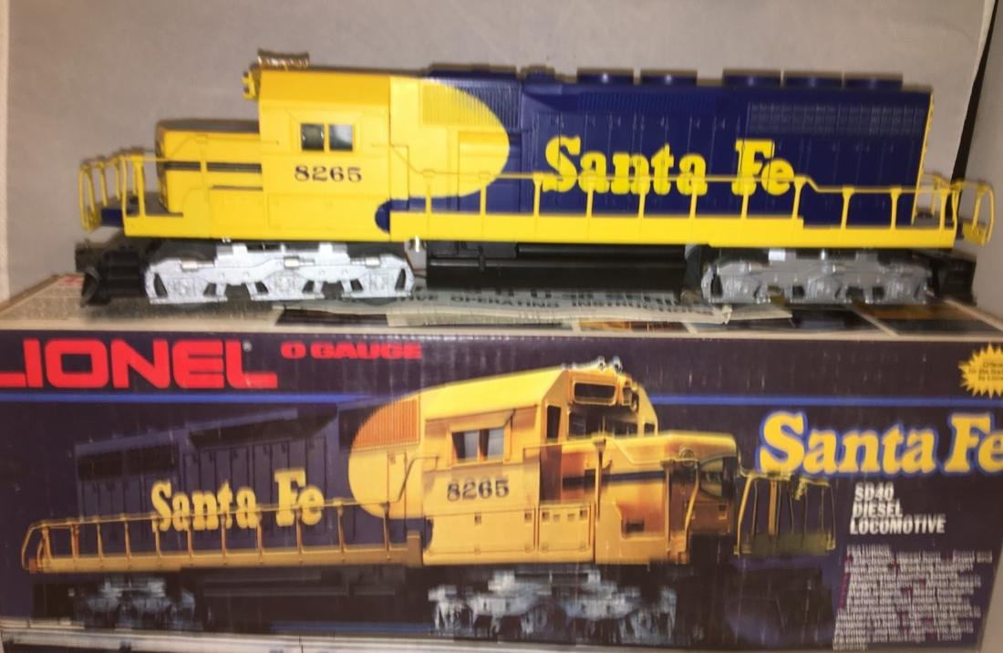 Lionel Santa Fe O Gauge SD-40 Diesel