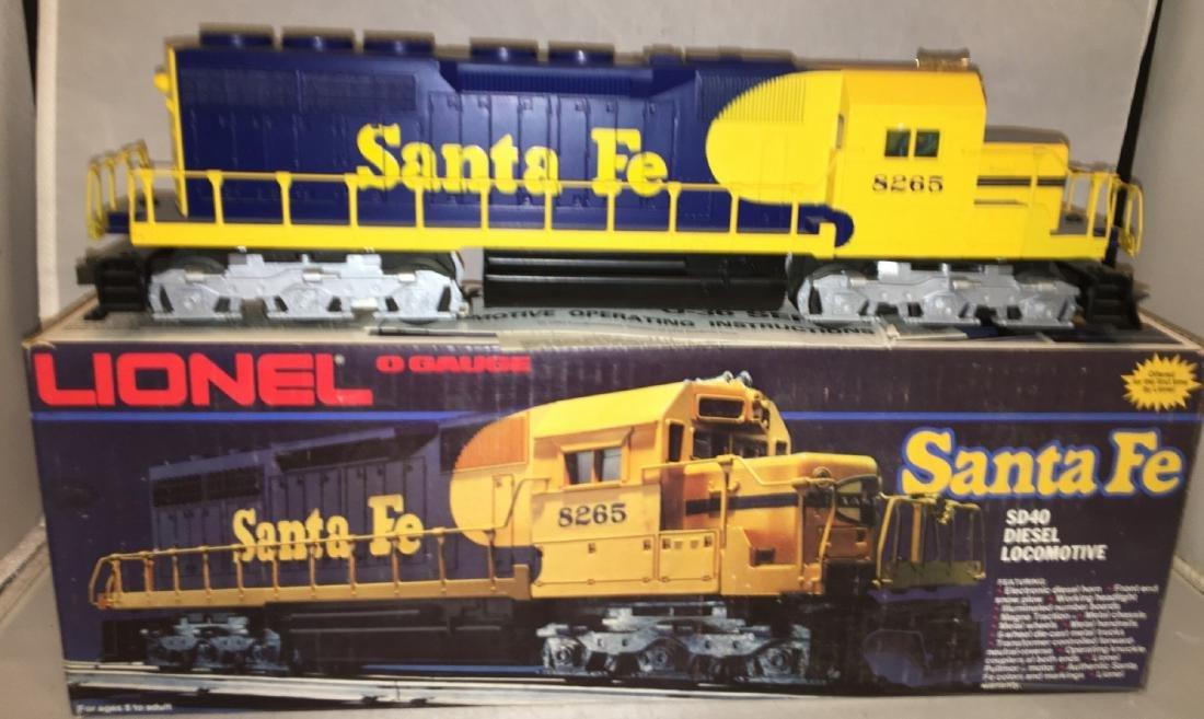 Lionel Santa Fe O Gauge SD-40 Diesel - 2