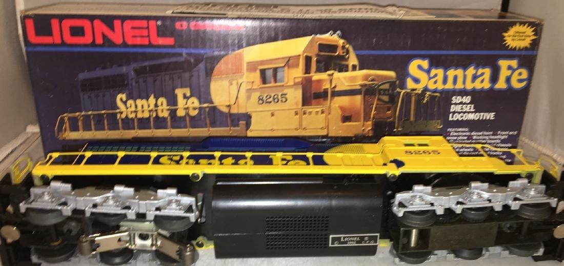 Lionel Santa Fe O Gauge SD-40 Diesel - 3