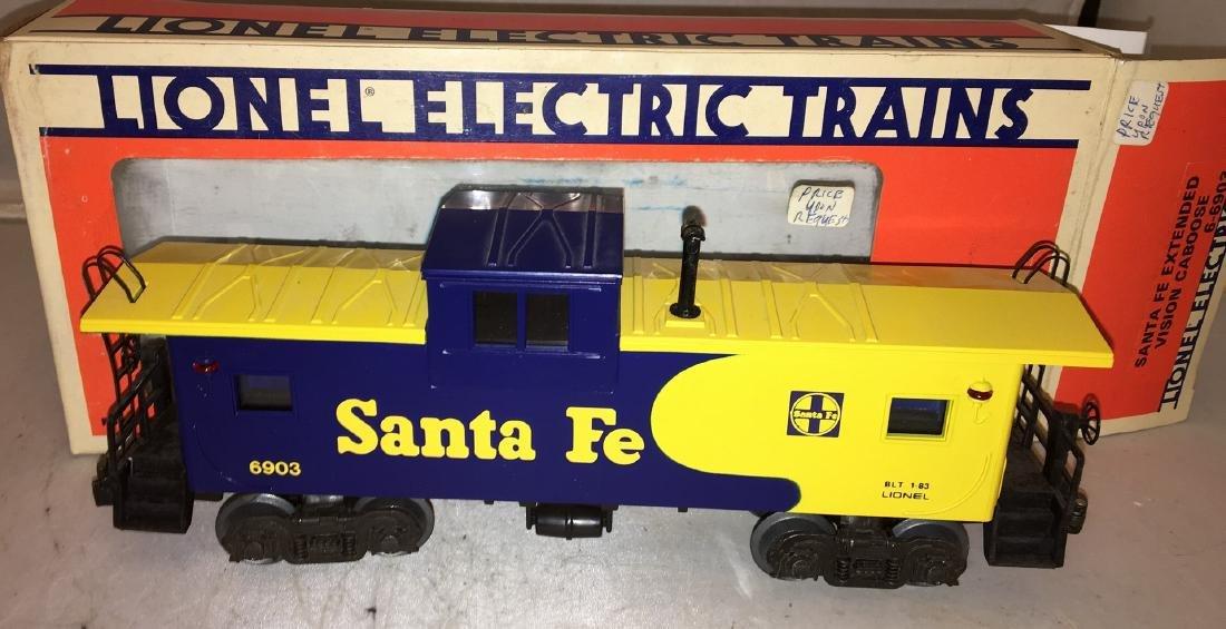 Lionel Santa Fe O Gauge EV Caboose - 2
