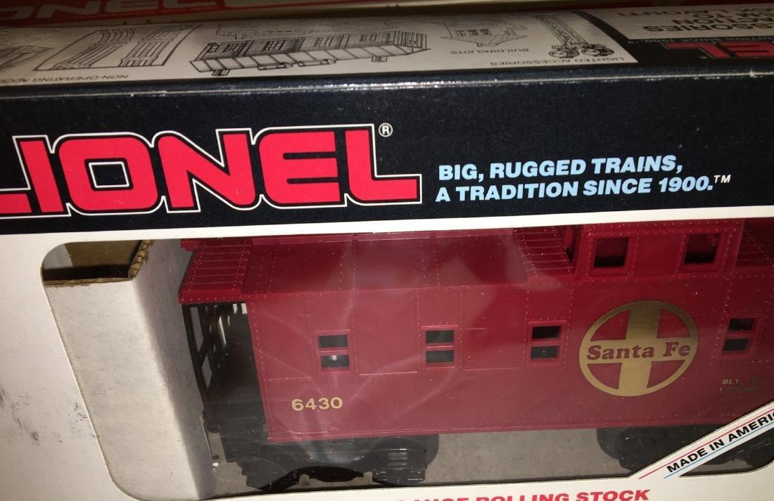 Lionel Santa Fe O Gauge Freight Cars - 4