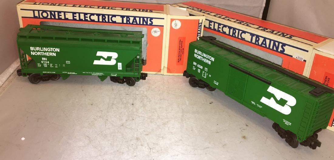 Lionel BN O Gauge Freight Cars