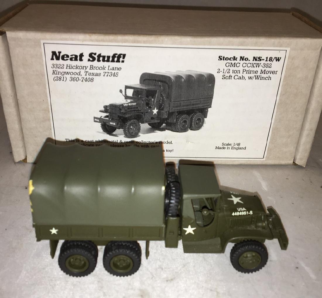 Neat Stuff 1/48 Scale Army Truck