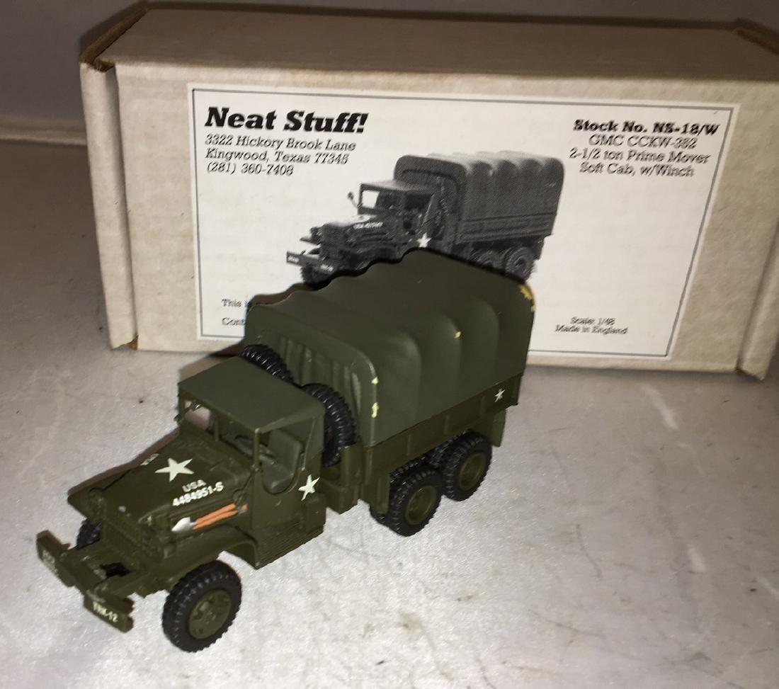 Neat Stuff 1/48 Scale Army Truck - 3
