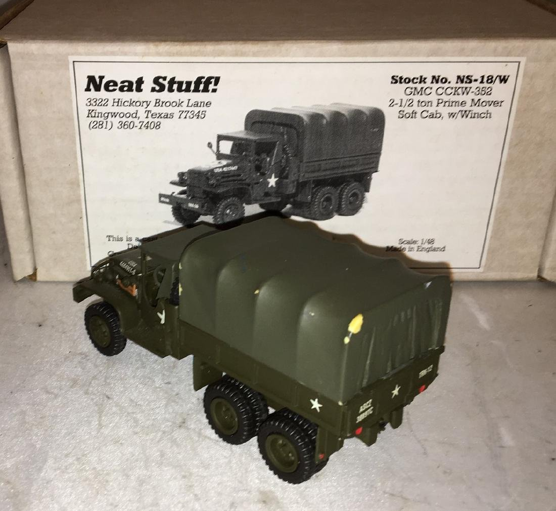 Neat Stuff 1/48 Scale Army Truck - 4