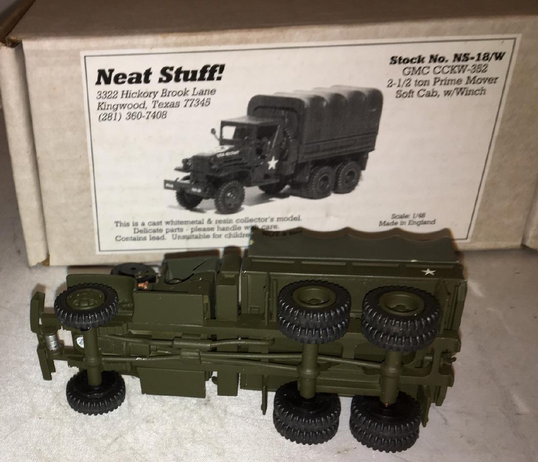 Neat Stuff 1/48 Scale Army Truck - 5