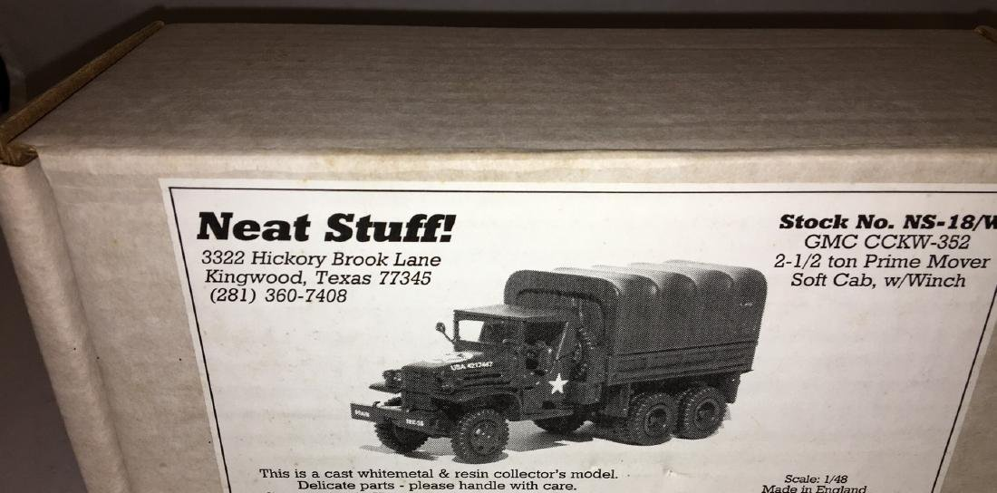 Neat Stuff 1/48 Scale Army Truck - 6