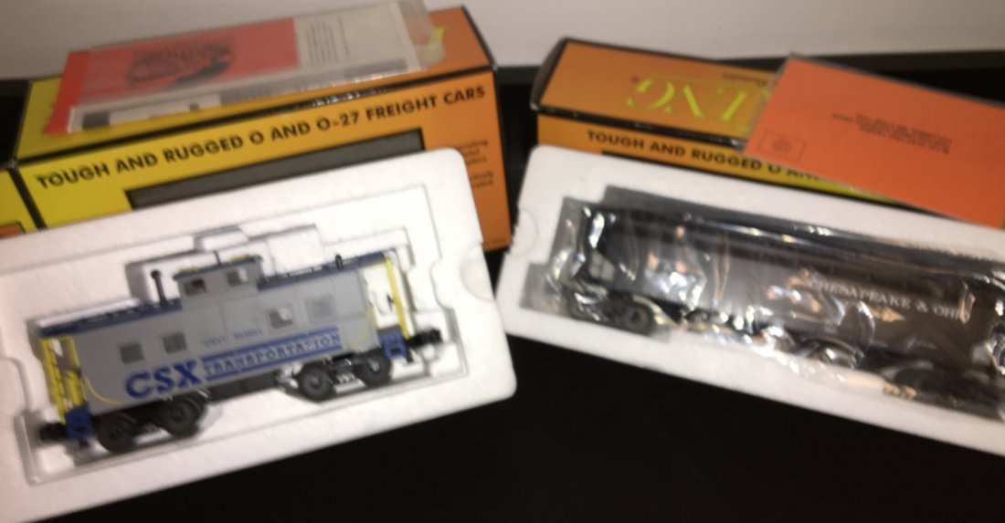 MTH O Gauge Freight Cars