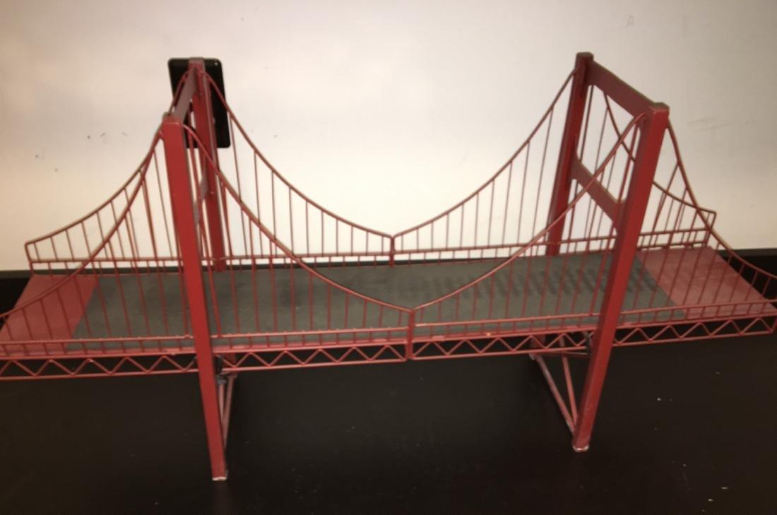 O Gauge Double Span Suspension Bridge