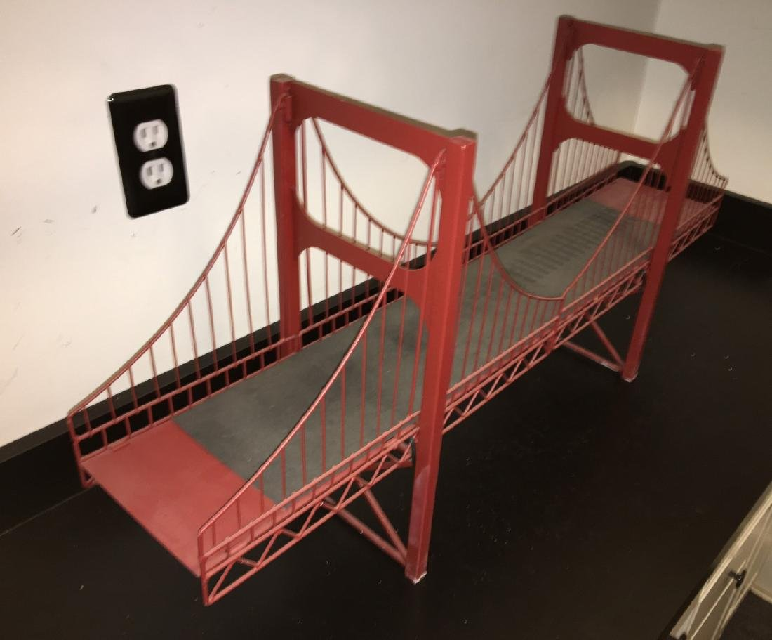 O Gauge Double Span Suspension Bridge - 2