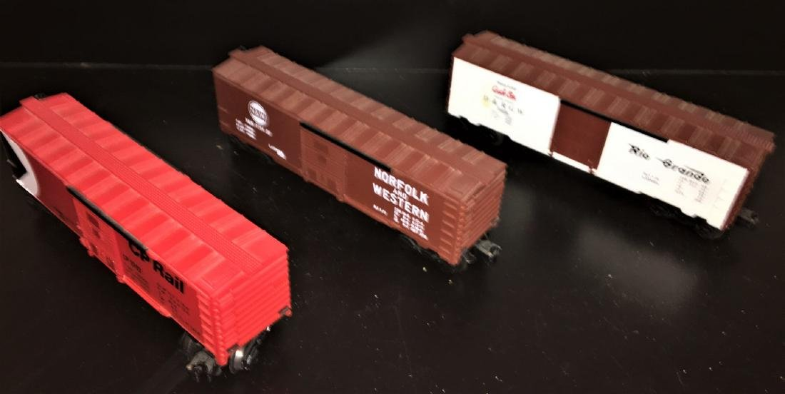 Lionel O Gauge Box Cars - 2