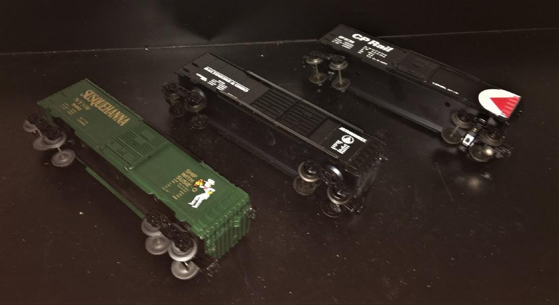 Lionel O Gauge Box Cars - 3