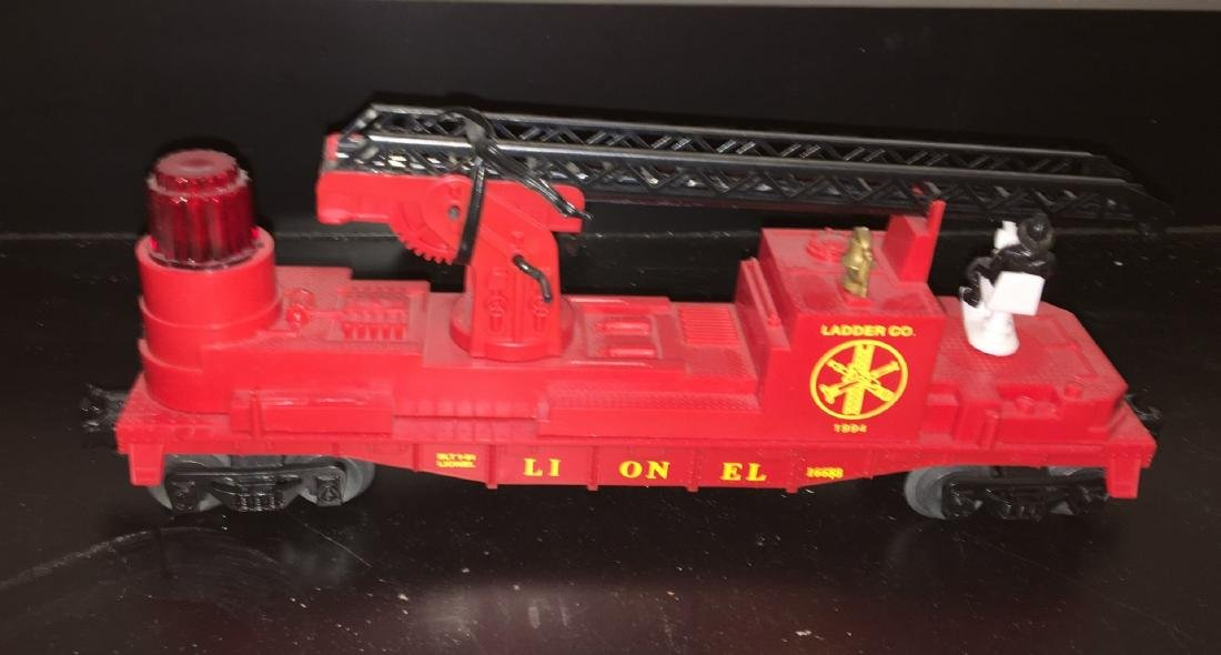 Lionel O Gauge Operating Fire Car - 2