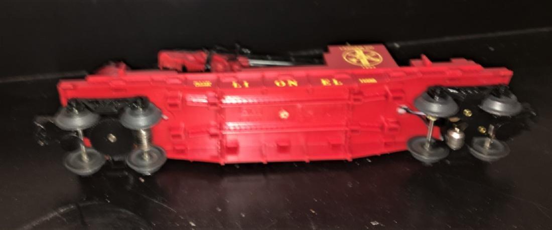 Lionel O Gauge Operating Fire Car - 3