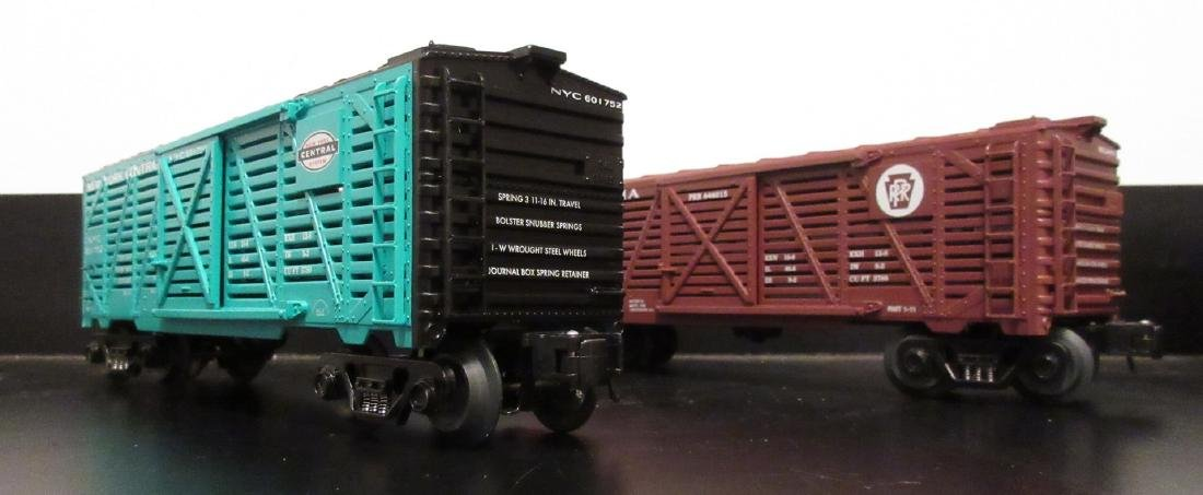Atlas O Gauge Stock Cars - 2