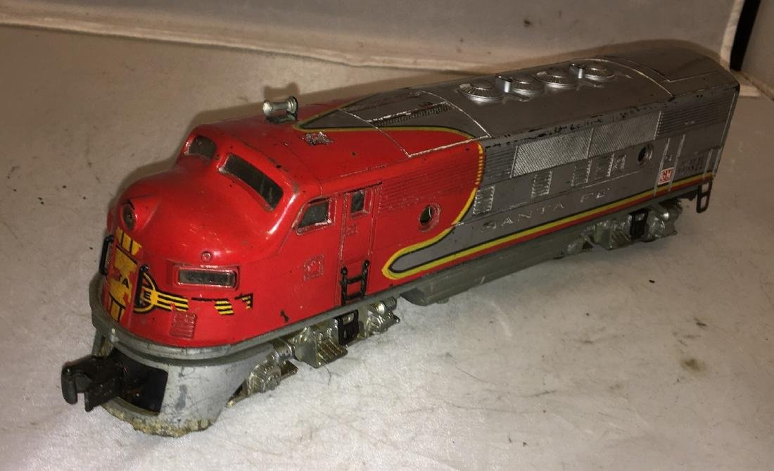 Lionel Postwar SF O Gauge F3 Diesel - 2