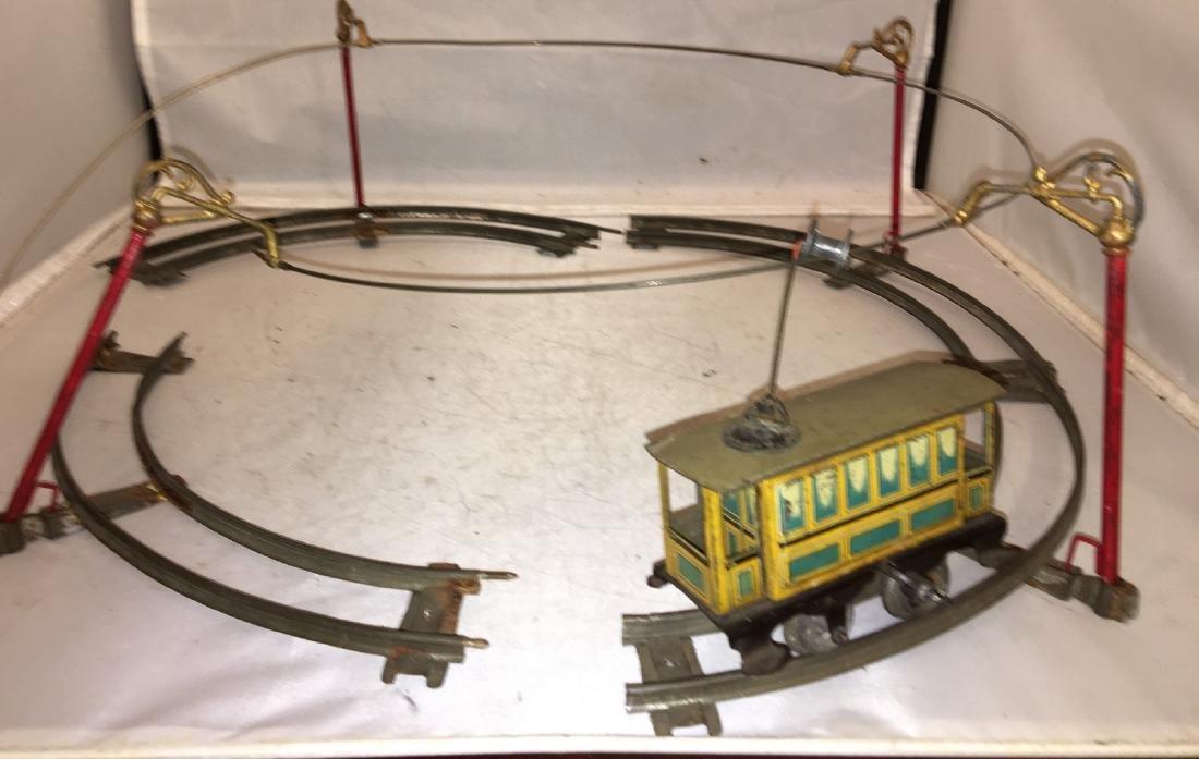 Vintage Issmayer O Gauge Trolley Set - 2