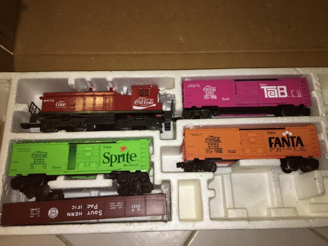 Lionel Coca cola O Gauge Train Set