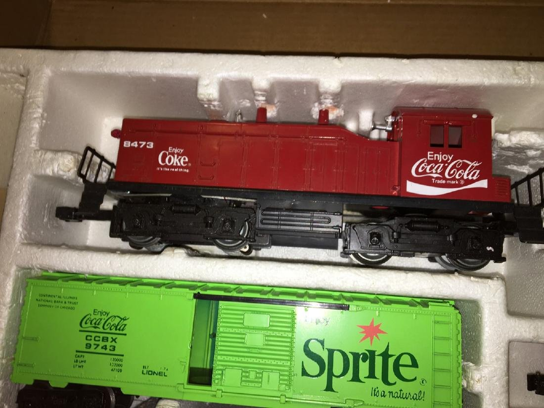 Lionel Coca cola O Gauge Train Set - 2