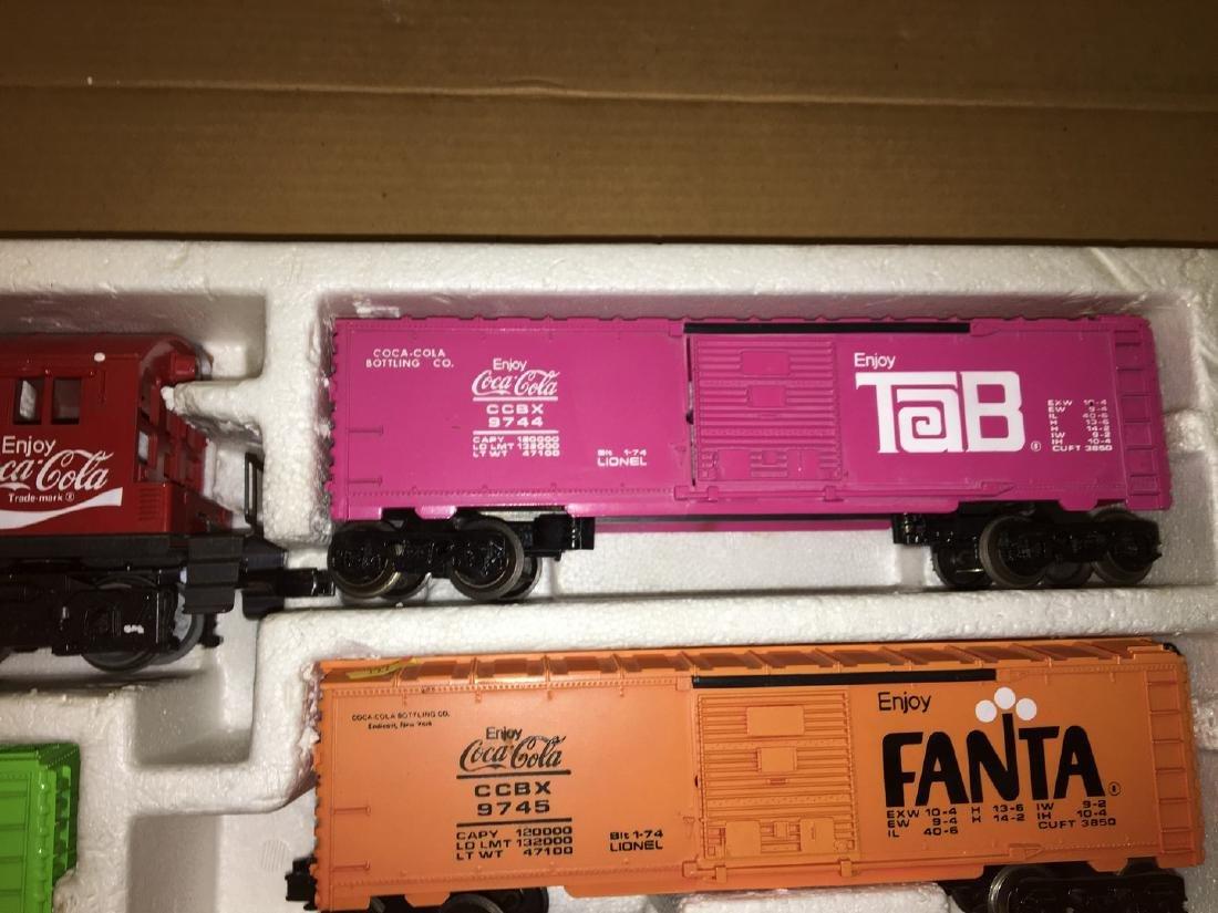 Lionel Coca cola O Gauge Train Set - 3
