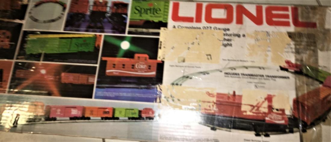 Lionel Coca cola O Gauge Train Set - 5