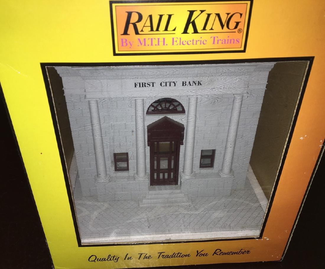 MTH O Gauge First City Bank
