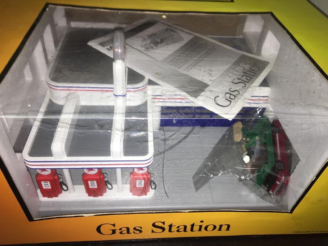 MTH O Gauge Mobil Operating Gast Station