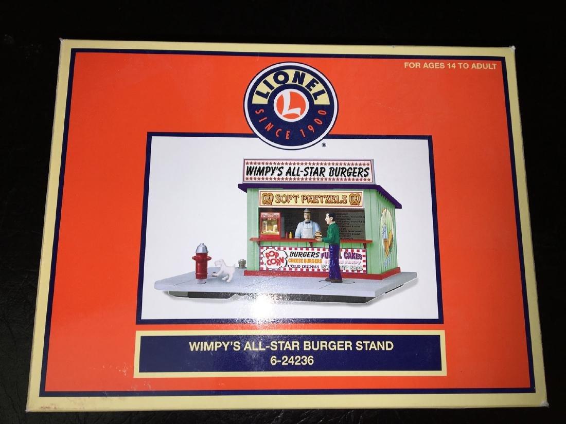 Lionel O Gauge Wimpys Burger Stand