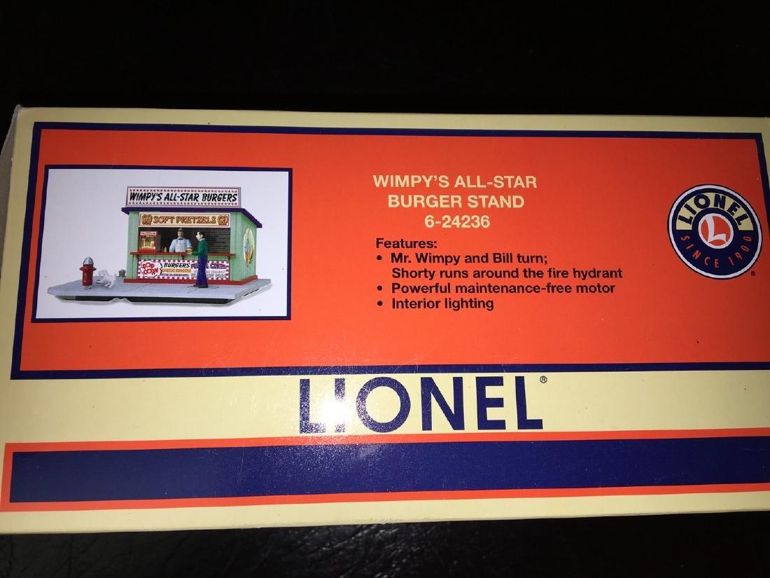 Lionel O Gauge Wimpys Burger Stand - 3