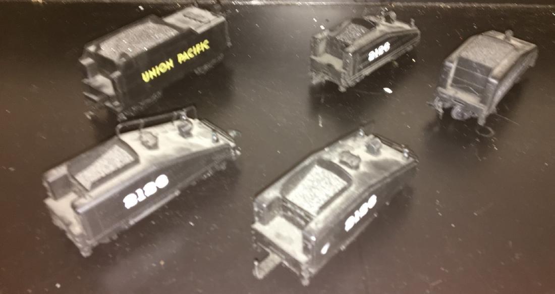 Bachmann HO Scale Tenders.