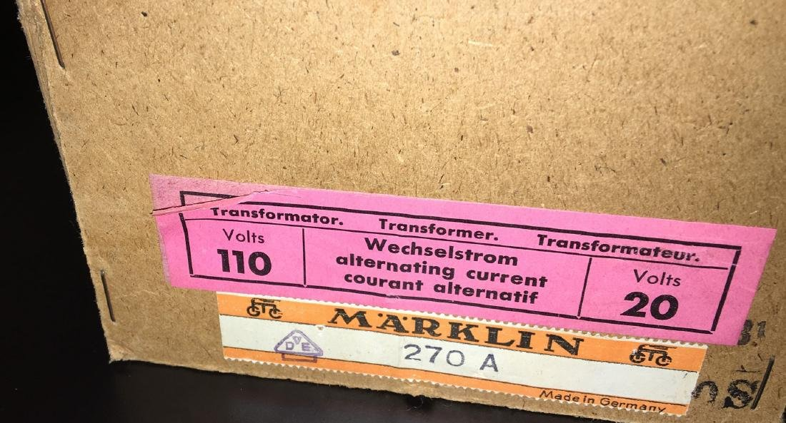 Marklin 270A Transformer - 3