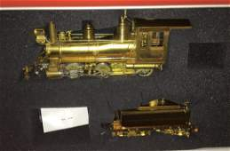 Precision Scale NCNG ON3 Brass steam Engine