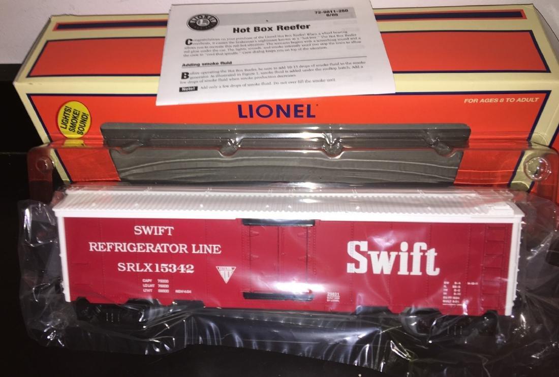Lionel Swift O Gauge Hot Box Reefer Car