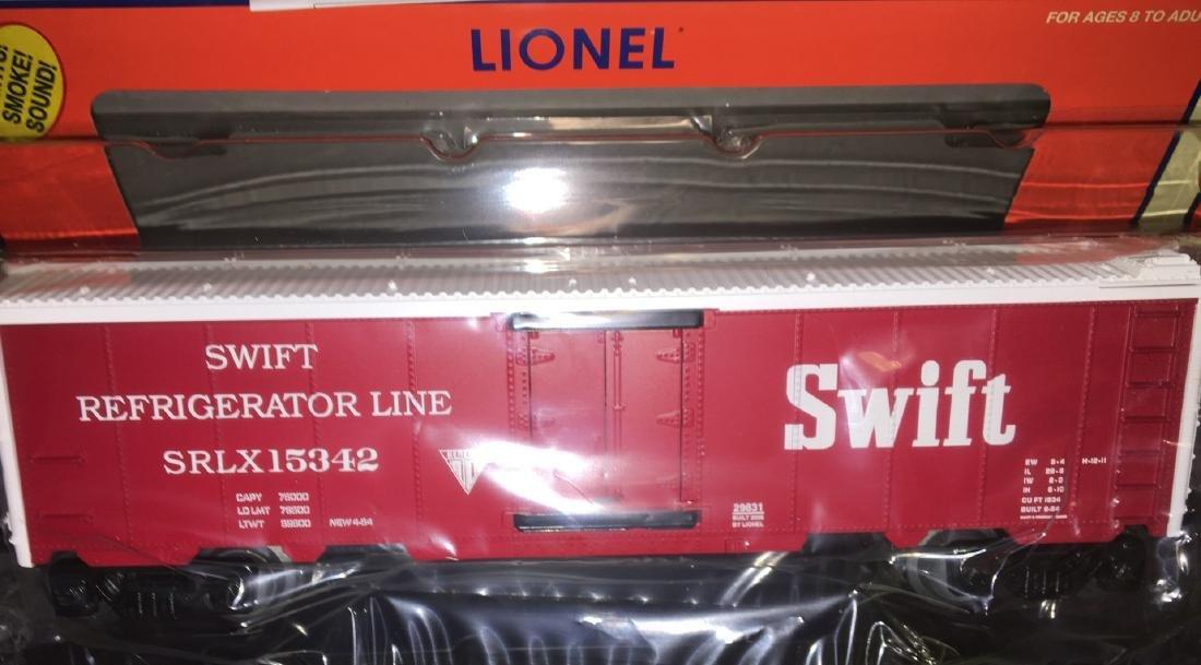 Lionel Swift O Gauge Hot Box Reefer Car - 2