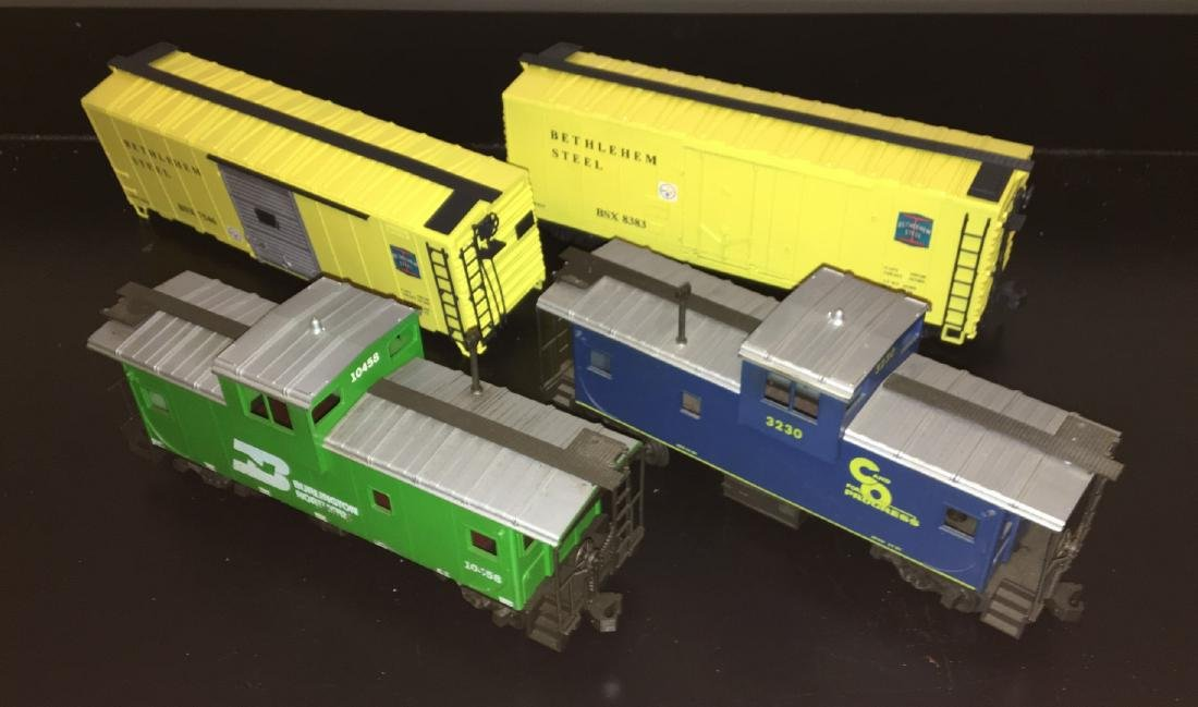 Atlas O Scale Freight Cars