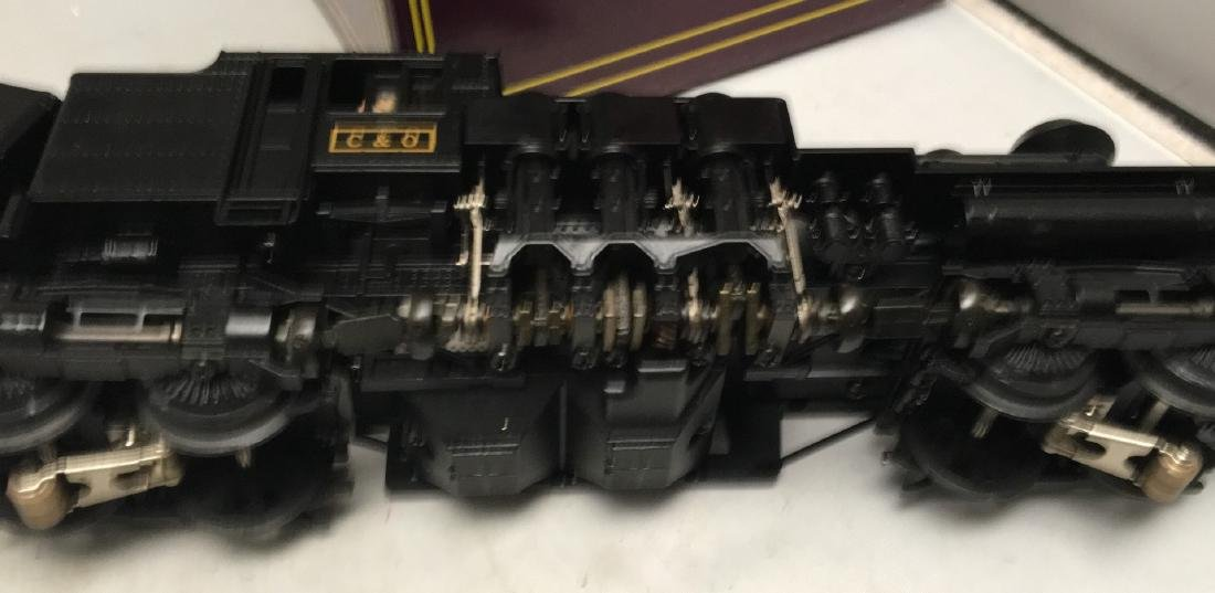 MTH Premier C&O O Gauge 4-Truck Shay Steam Engine - 4