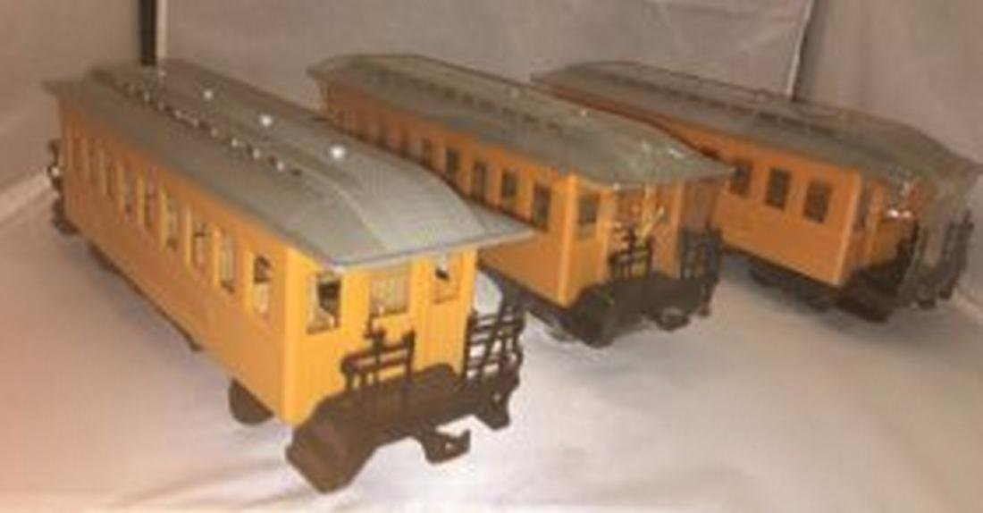 Three G Gauge Passenger Cars - 3