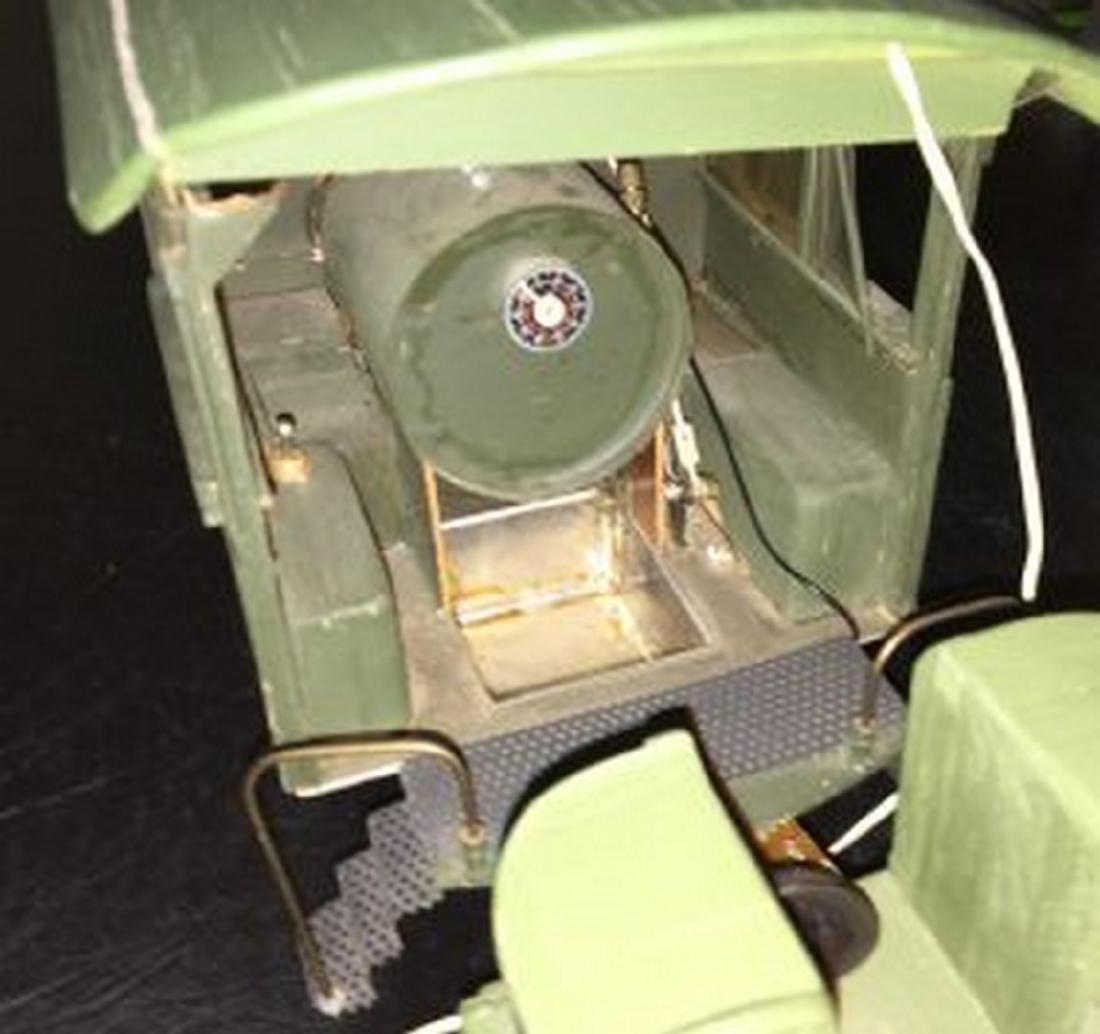 Brass and Wood Standard Gauge Steam Engine Plus - 4