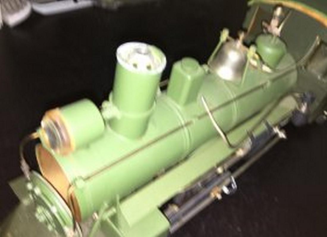 Brass and Wood Standard Gauge Steam Engine Plus - 5