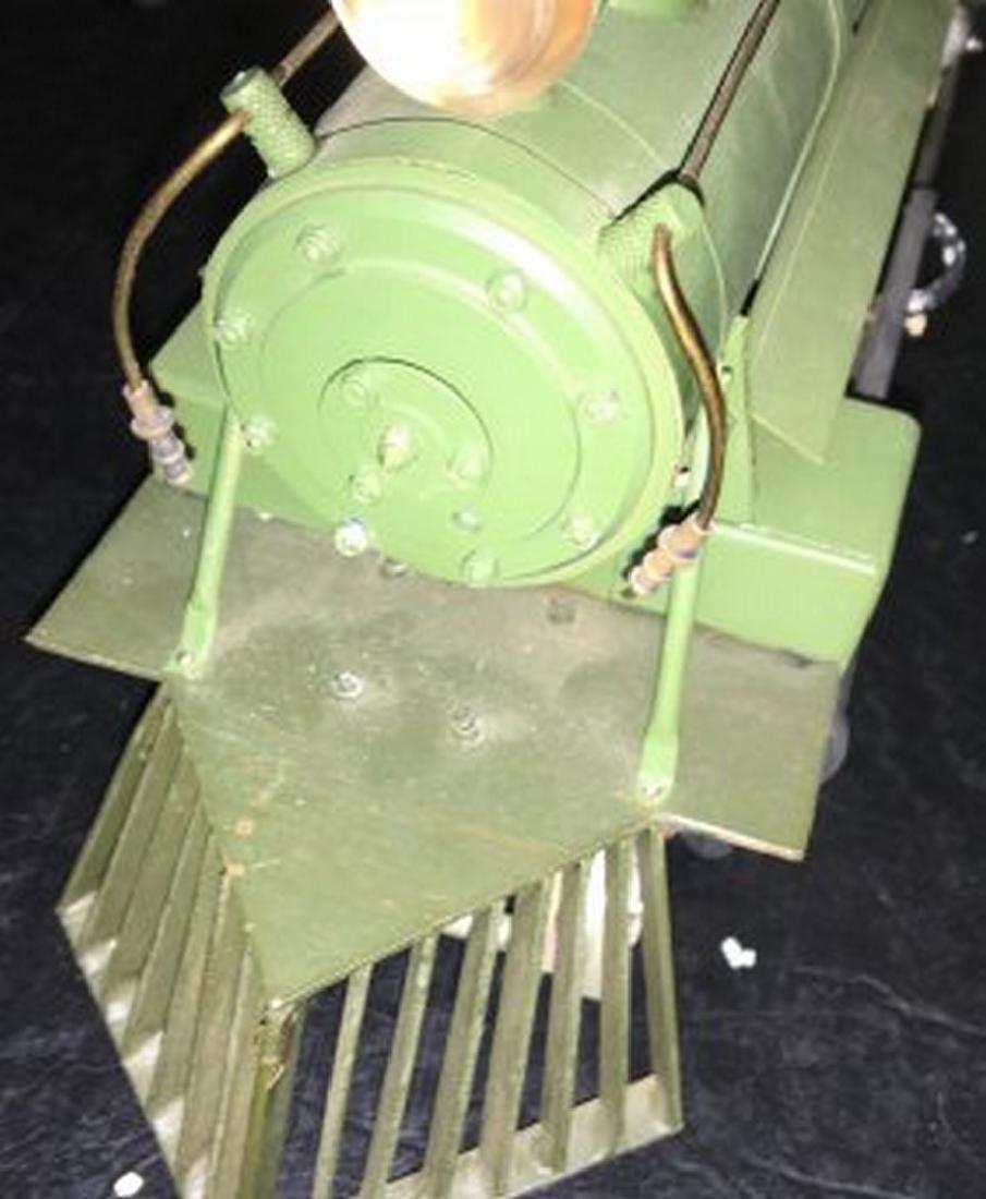 Brass and Wood Standard Gauge Steam Engine Plus - 6