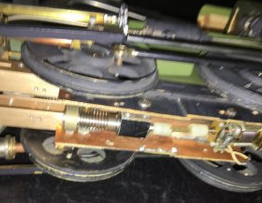 Brass and Wood Standard Gauge Steam Engine Plus - 7