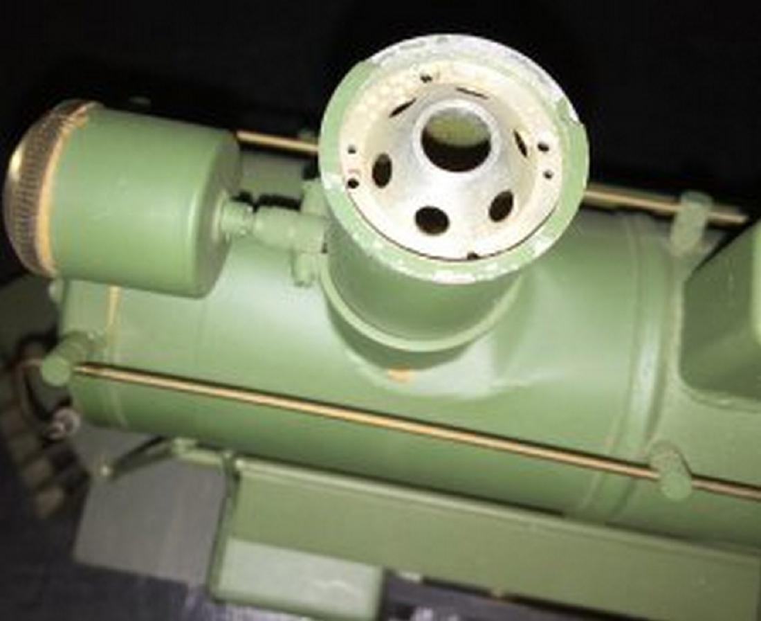 Brass and Wood Standard Gauge Steam Engine Plus - 8